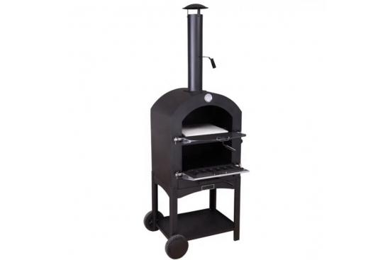 Cuptor traditional pentru pizza pe lemne