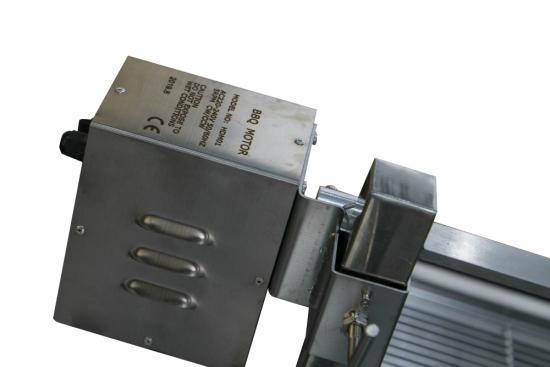 Kit Rotisor Protap full inox 130cm, cu tepusa 16mm, Motor profesional 220V