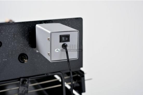 Motor electric pentru gratar cu rotisor, viteza reglabila, alimentare la masina sau priza
