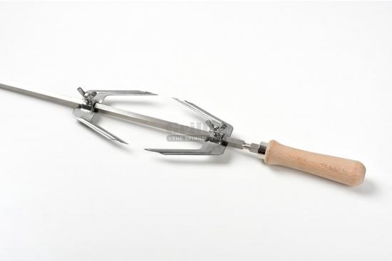 Set furca fixare carne rotiserie, compatibil cu  BBQ GRL-M11R3L/S11R3/M7R3