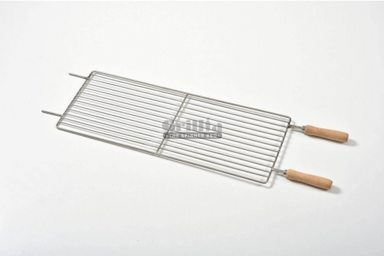 Gratar carbune, BBQ mic, 7 frigarui, rotiserie automata, grill traditional, 58cm
