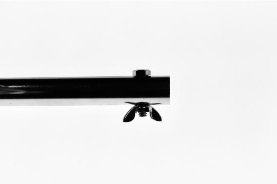 Tepusa PROTAP din crom masiv 19mm, maner/manivela inclus, 190 cm