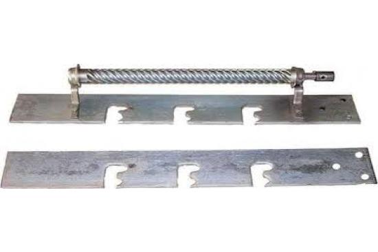 Set sistem melcutor cu agrenaj de 3 nivele, 2 tepusi, Motor Cros 220V/55W tip M5 inclus