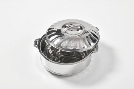 Caserola termos, otel inoxidabil alimentar, capac cu inchidere ermetica, strat termoizolator, Maximus, 7,5l