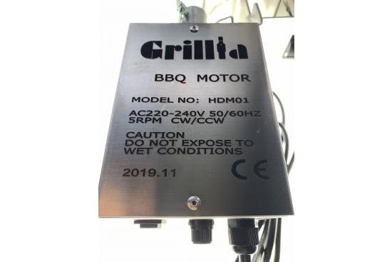 Motoreductor Protap Grillia, electric 220v, INOX, gama profesionala
