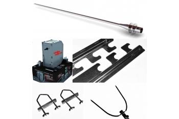 Pachet/Set Accesorii pentru gratar Protap cu Motor Tip M5, Cros Motor, tepusa 19mm