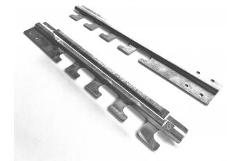 Set suporturi laterale Protap pe 5 nivele/pozitii pentru susținerea tepusei si motorasului electric