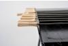 Tepusa din inox pentru frigarui, maner din lemn, compatibile cu BBQ GRL-S11R3/M7R3/S11/M7